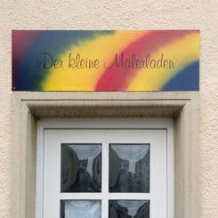 Maler-Bedarfsladen Eingang
