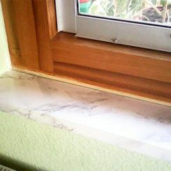 Fensterbank – nachher