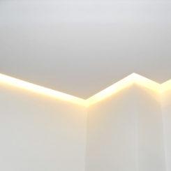 Modernisierung von Decke und Wände