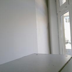 Küche, Umbau und Trockenbauwand